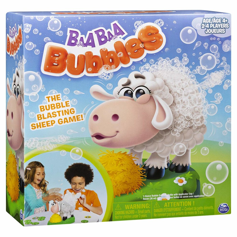 Baa Baa Bubble-Blasting Game with Interactive Sneezing Sheep