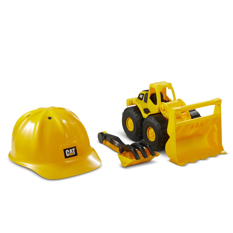 CAT Construction Fleet Wheel Loader Sand Toy Set