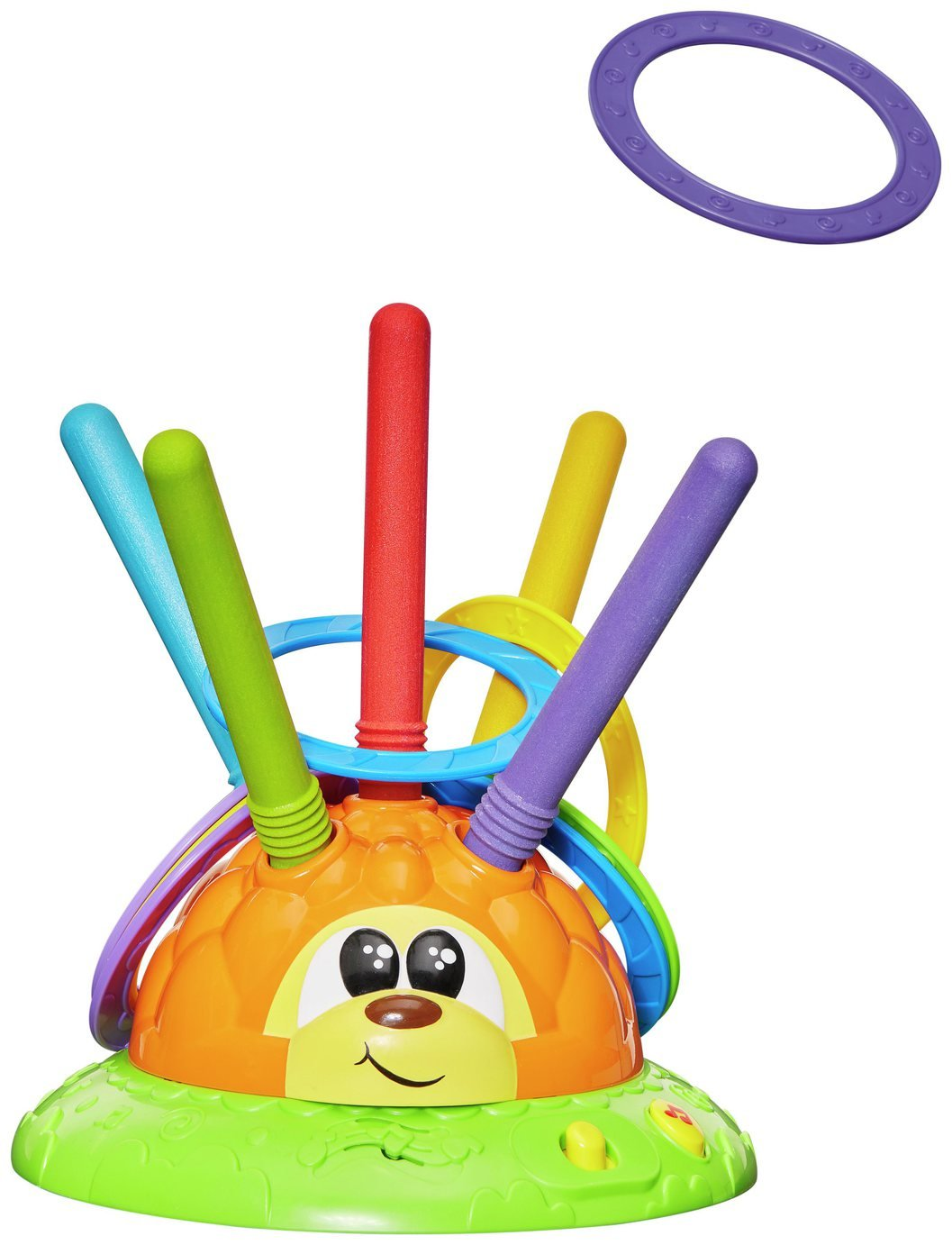 Chicco Mister Ring Hedgehog Hoopla Toy
