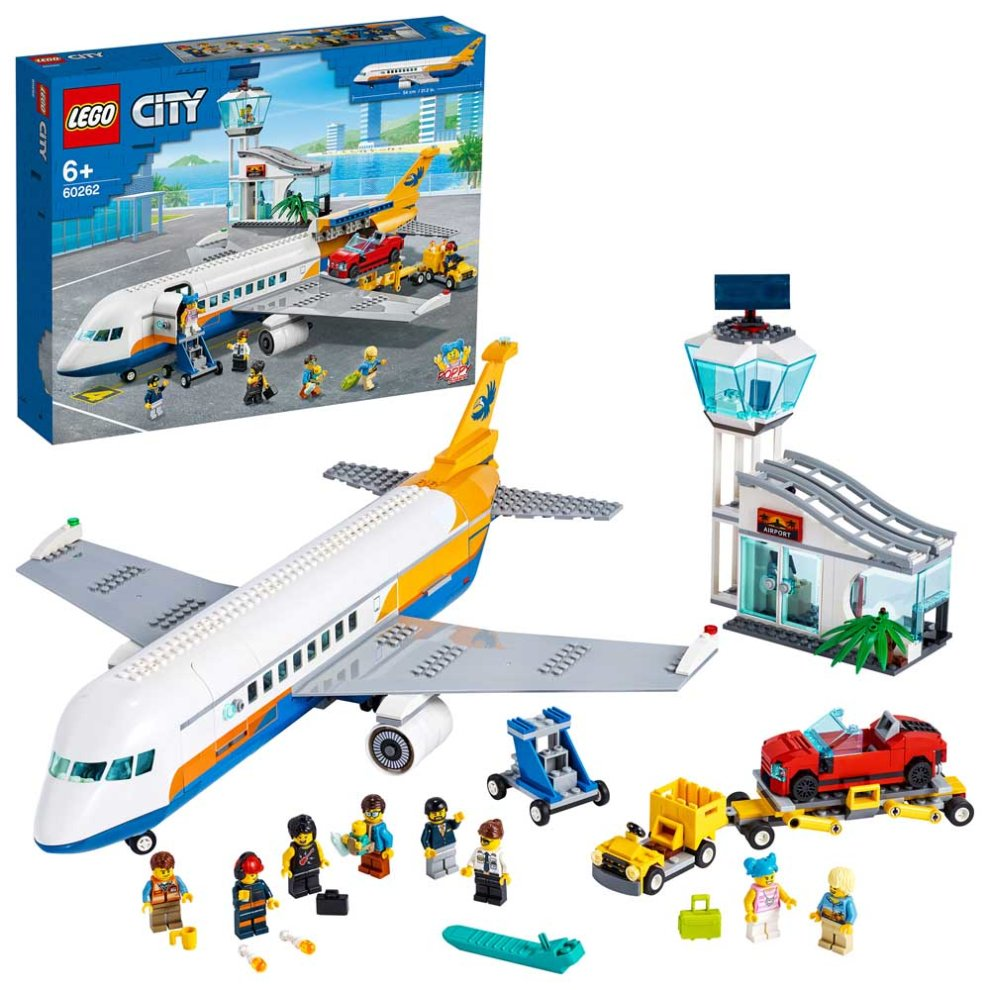 LEGO City Airport Passenger Airplane & Terminal 60262 Age 5+ 669pcs