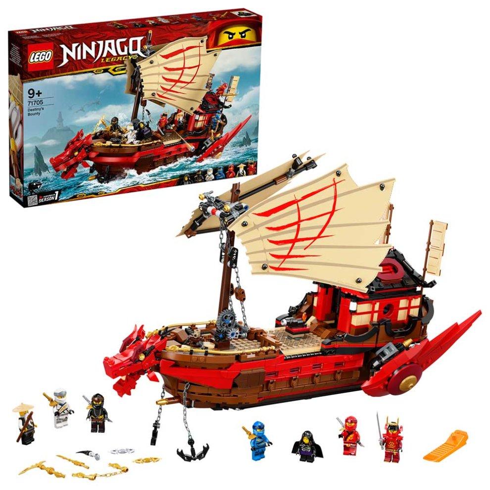 LEGO NINJAGO Legacy Destiny's Bounty Ship Set 71705 Age 9+ 1781pcs