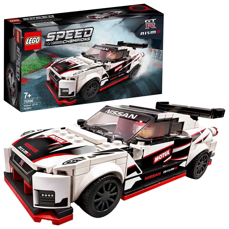 LEGO Speed Champions Nissan GT-R NISMO Car Set - 76896