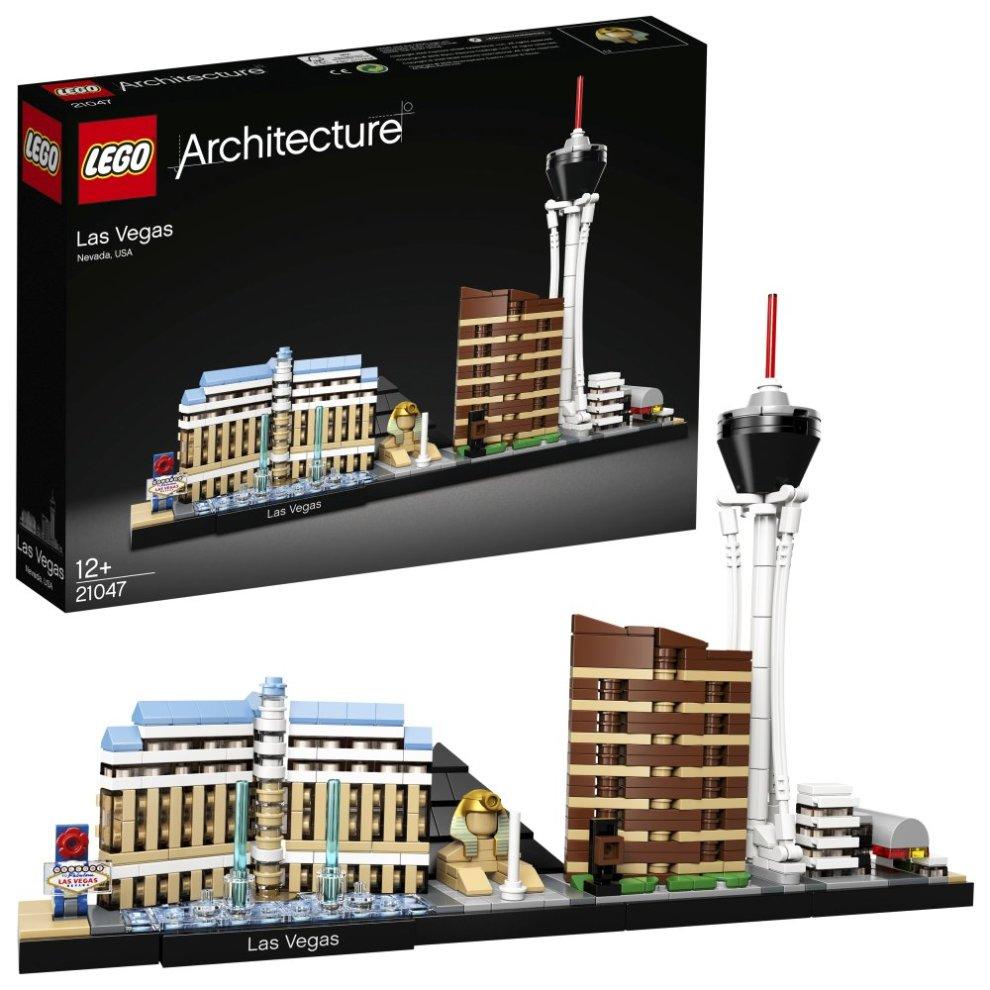LEGO UK 21047 Architecture Las Vegas Skyline Building Kit, Collectible Model