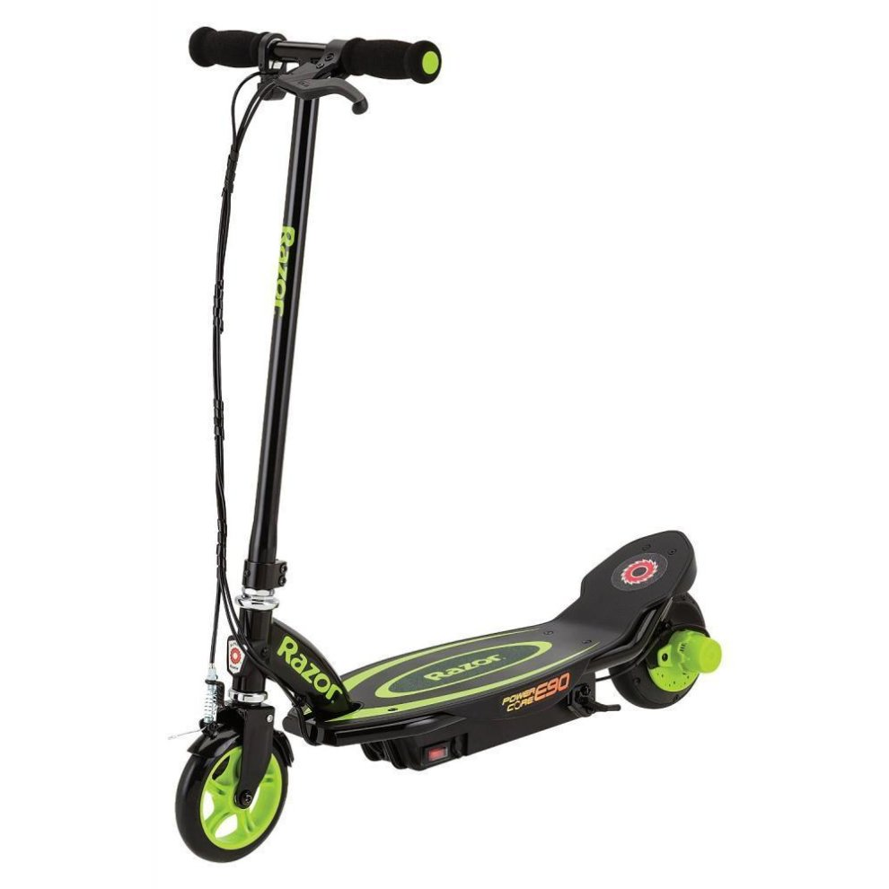 Razor Kid's Power Core E90 Electric Scooter Speeds up to 10 mph 70 mins usage