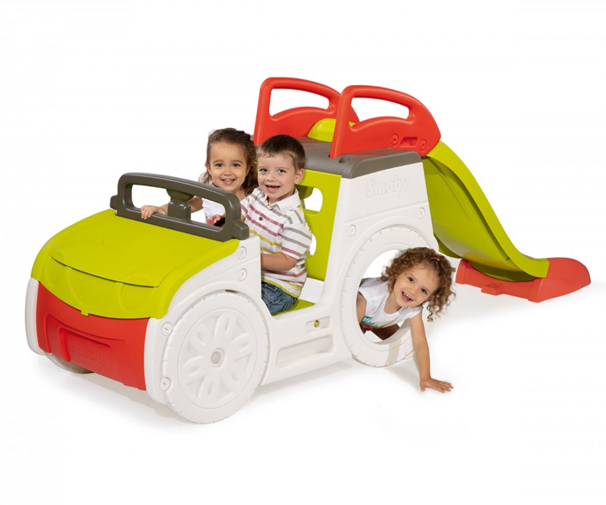 Smoby Adventure Car Sand Pit and Slide