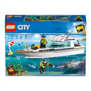 LEGO City: Diving Yacht Deep Sea Boat Set (60221)