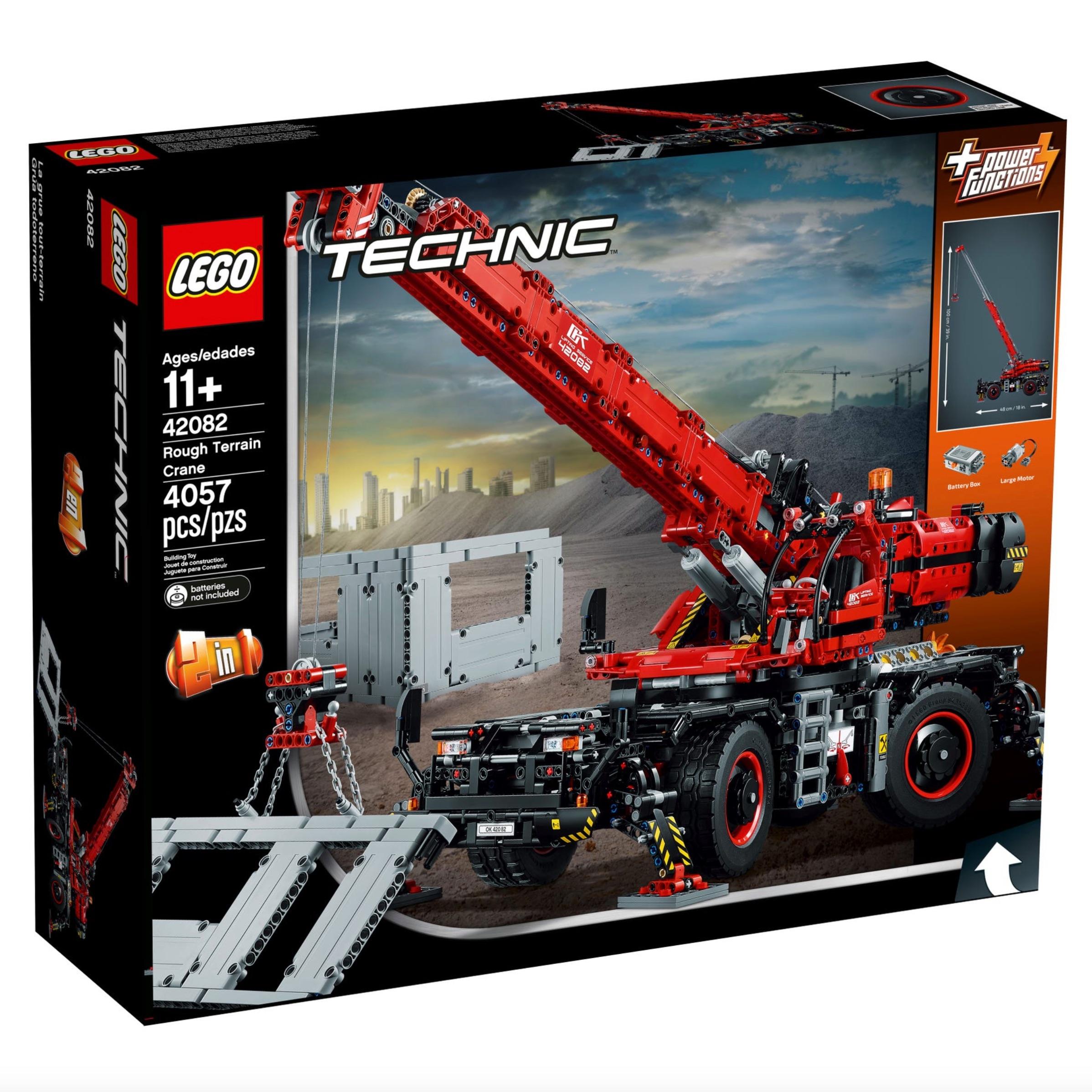 LEGO Technic 42082 Rough Terrain Crane